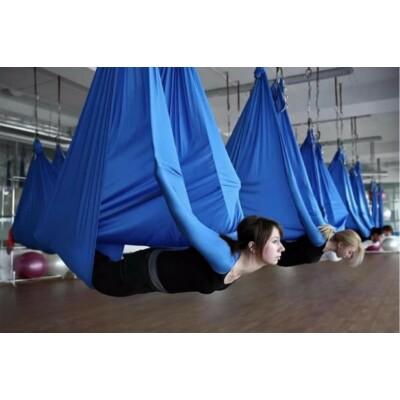Antigravitációs jóga függőágy sötétkék színű 4 méteres