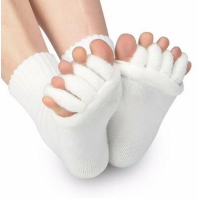 Lábujj-távtartós zokni, jóga zokni