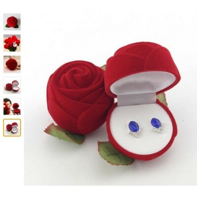 Rózsa ékszerdoboz