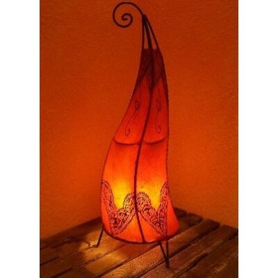 Arif marokkói henna álló lámpa narancs 70 cm