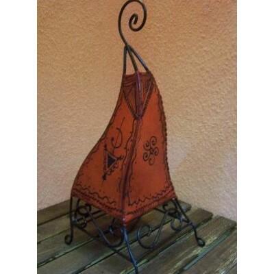 Marrakesh álló henna lámpa narancs 50 cm