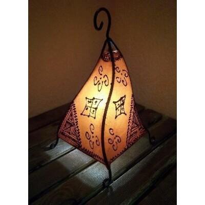 Marrakesh henna álló lámpa narancs 35 cm