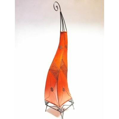 Methap marokkói álló lámpa narancs 100 cm