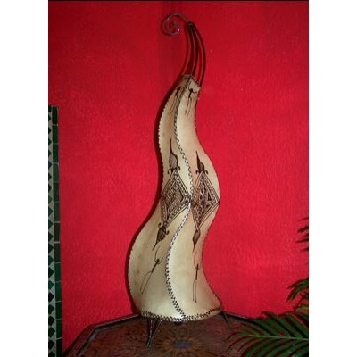 Mogador marokkói henna álló lámpa natúr 90 cm