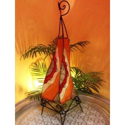 Narin marokkói henna álló lámpa 70 cm