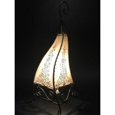 Rahaf marokkói álló henna lámpa natúr 50 cm