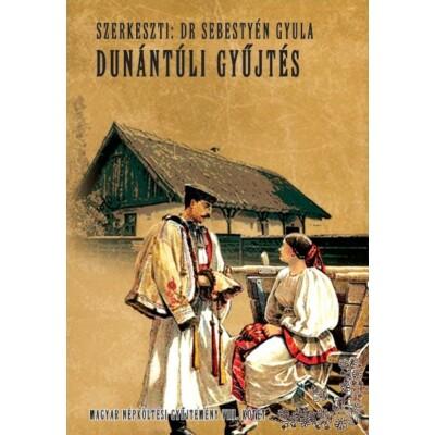 dr Sebestyén Gyula Magyar népköltési gyűjtemény VIII. kötet