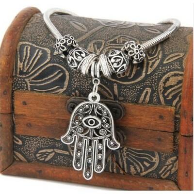 Fatima keze karkötő tibeti ezüstből