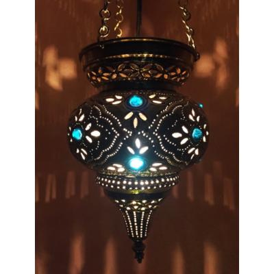 Ahava marokkói mennyezeti lámpa ezüst