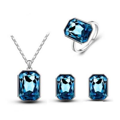 Kék kristály szett