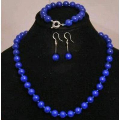 Lapis lazuli  szett