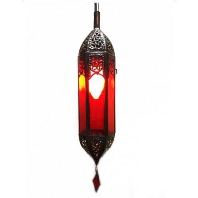 Marokkói lámpa piros