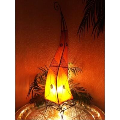 Mehtap marrokkói álló lámpa narancs