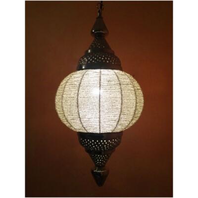 Shadia indiai mennyezeti lámpa ezüst