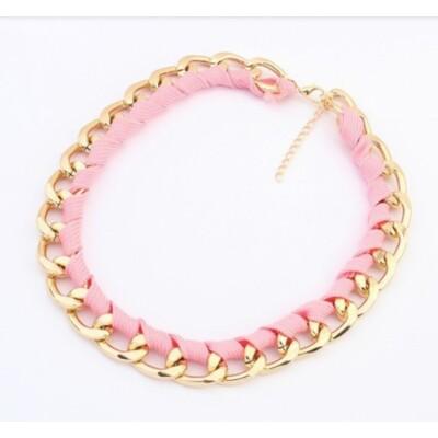 Virginia pink divat nyaklánc