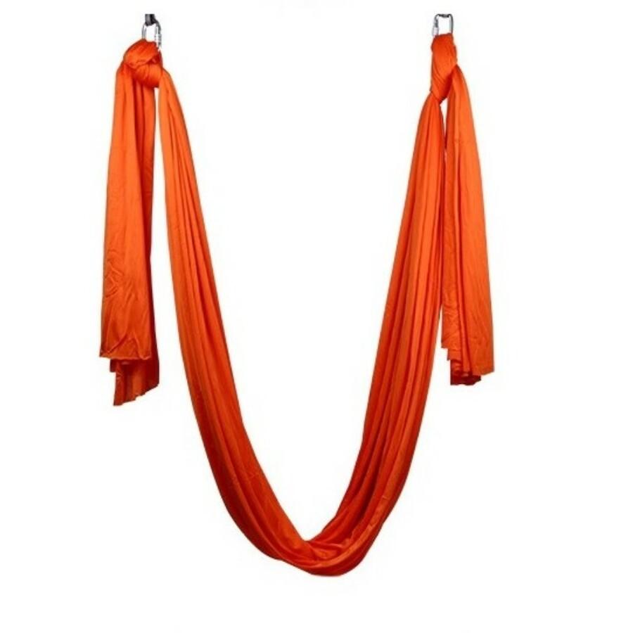 Antigravitációs jóga függőágy narancssárga színű 4 méteres