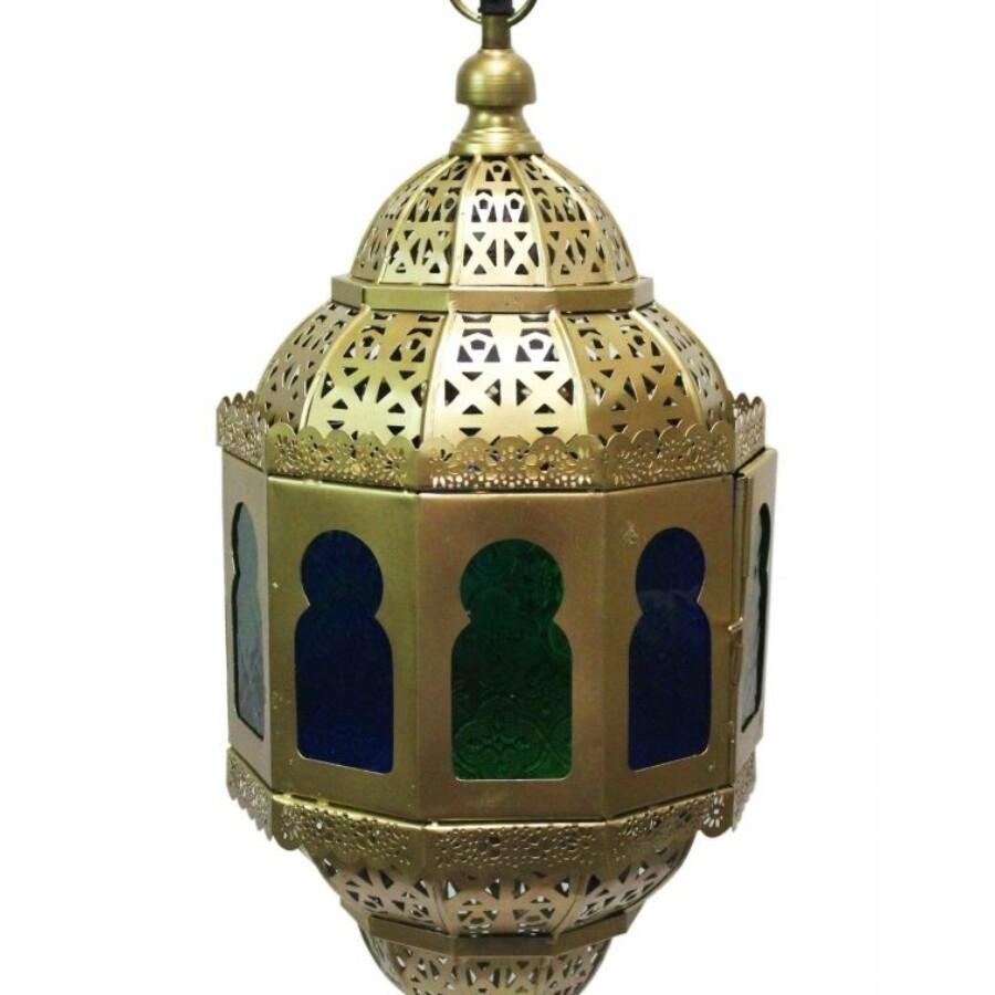 Ahlam marokkói mennyezeti lámpa