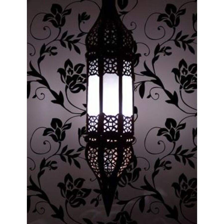 Rihana marokkói mennyezeti lámpa fehér