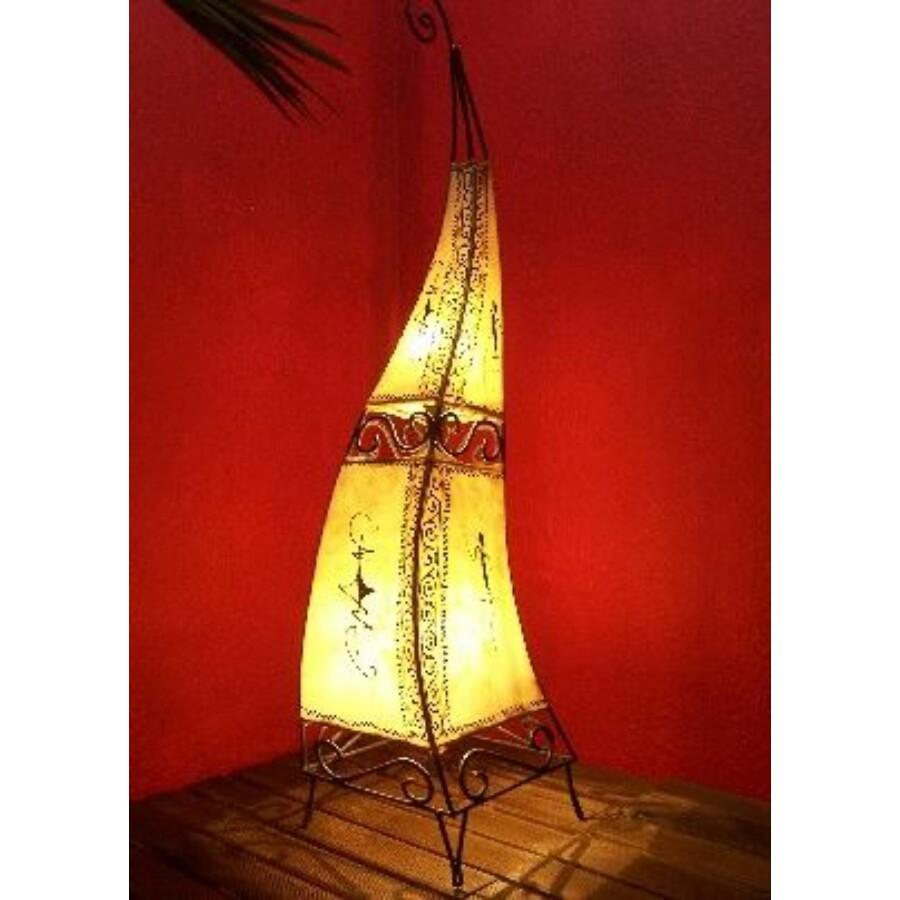 Marrakesh henna álló lámpa natúr 100 cm