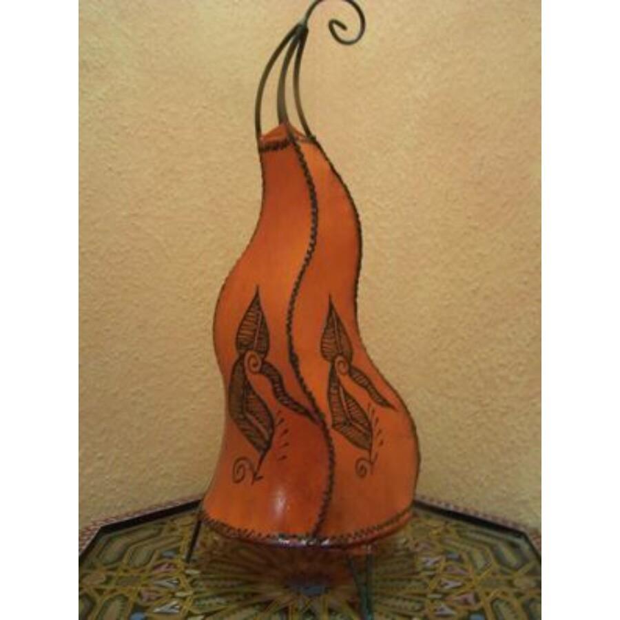Mogador marokkói henna álló lámpa narancs 60 cm