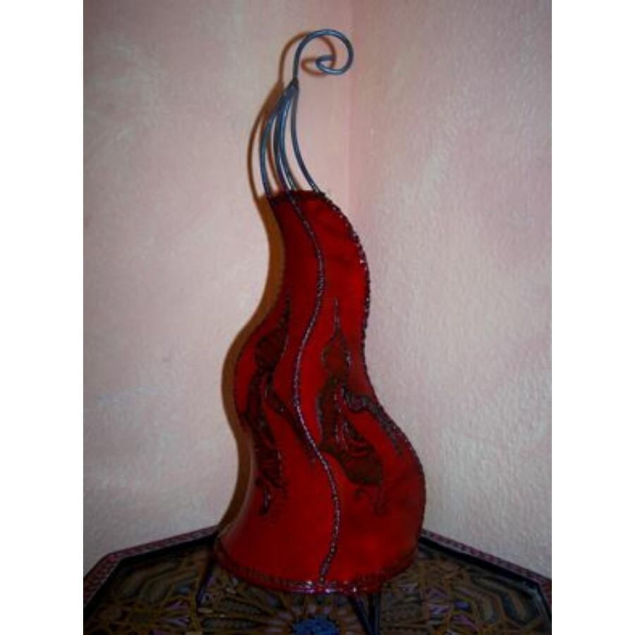 Mogador marokkói henna álló lámpa piros 60 cm