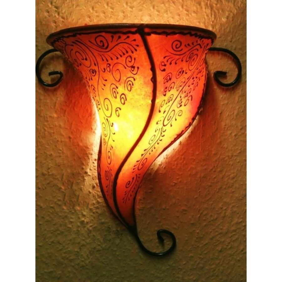 Rahaf marokkói henna fali lámpa