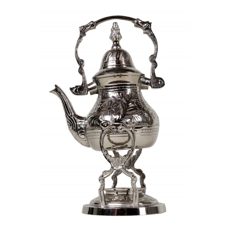 Alhena marokkói teakiöntő ezüst 300 ml