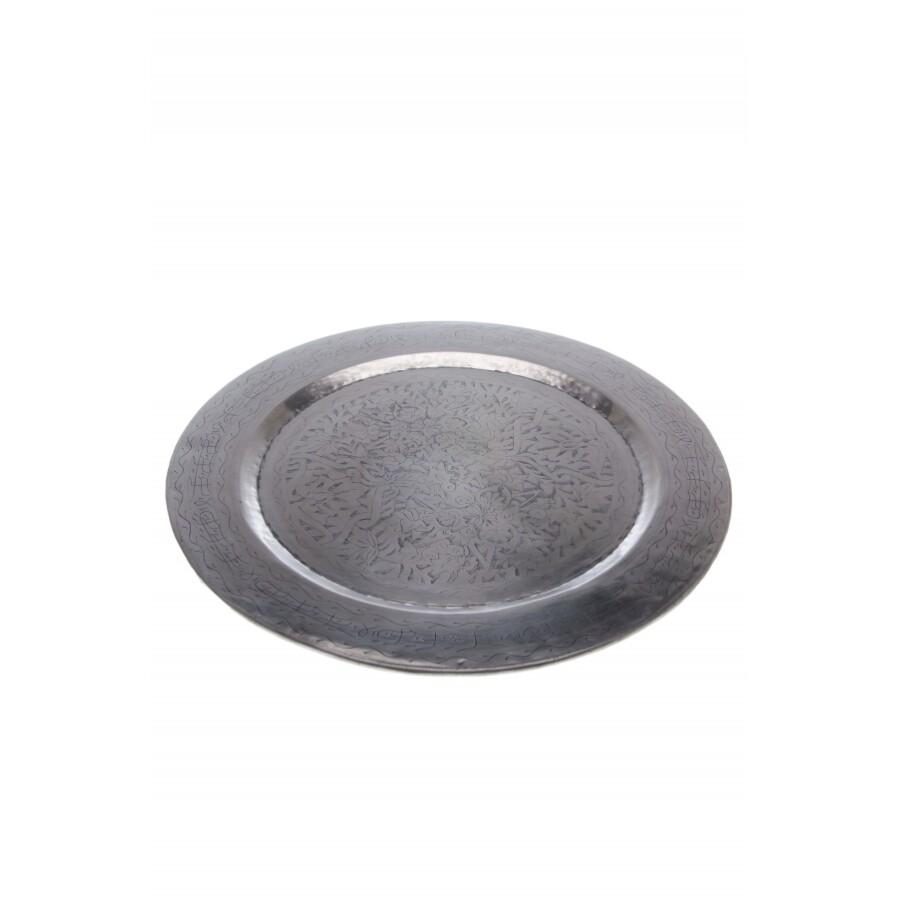 Hakim ezüst marokkói tálca 58 cm