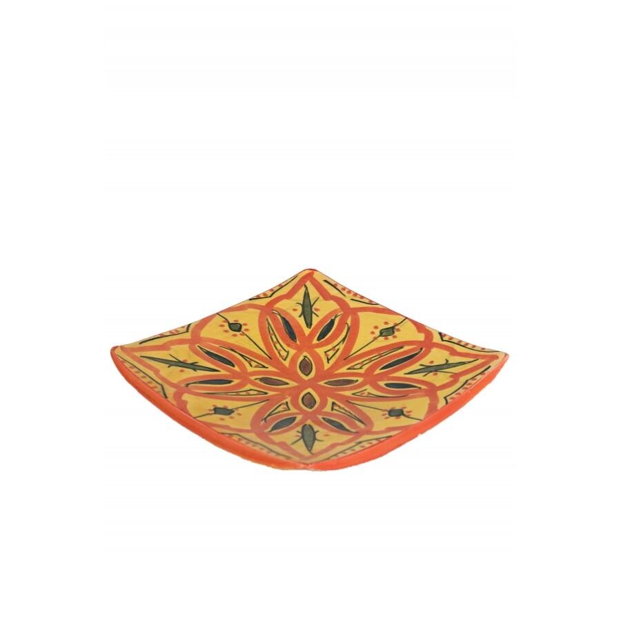 Ahsen marokkói kerámia tányér