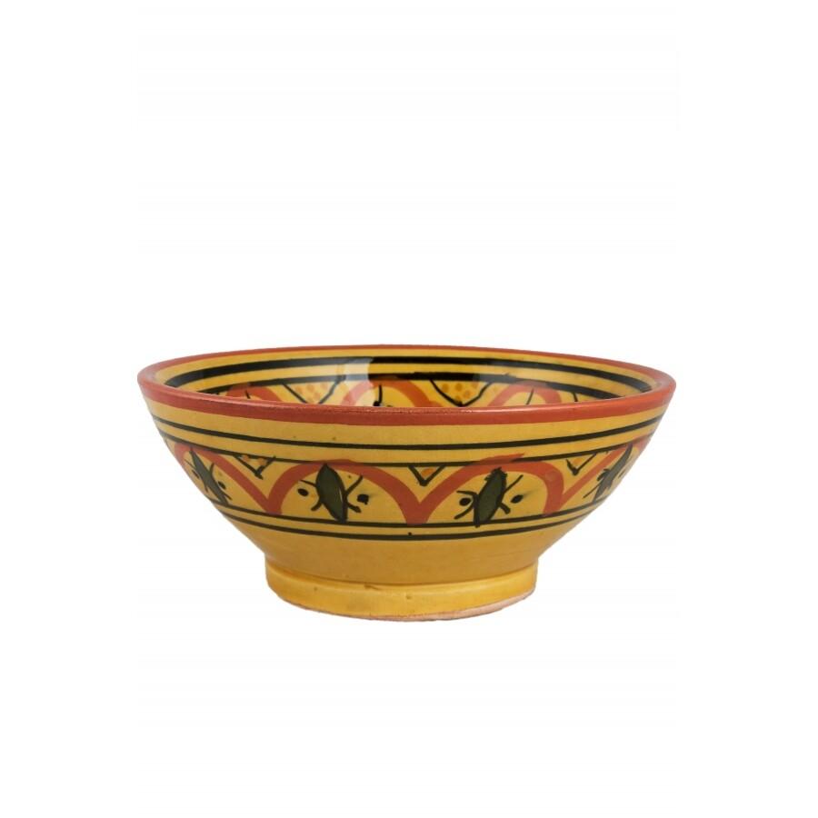 Amoda marokkói kerámia tányér
