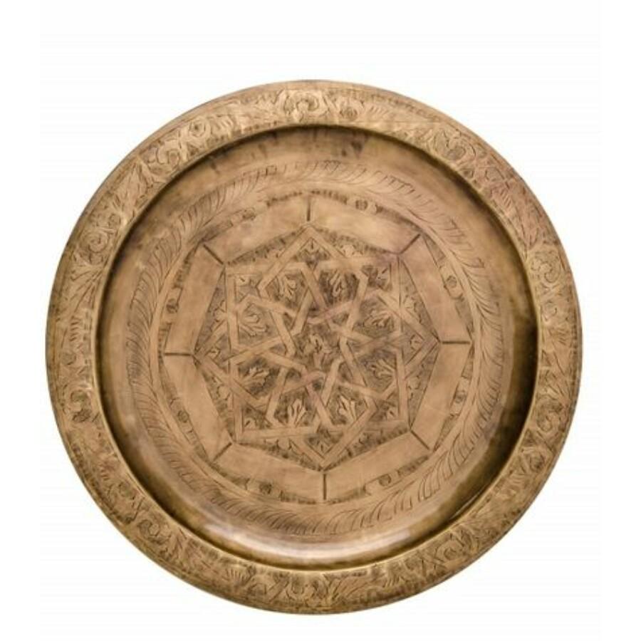 Mehdia marokkói tálca 40 cm