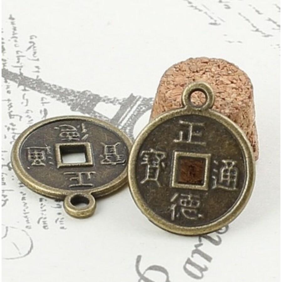 Feng Shui szerencsepénz medál