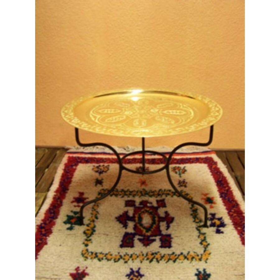 Gibraltar keleti teázó asztal arany színben 60cm