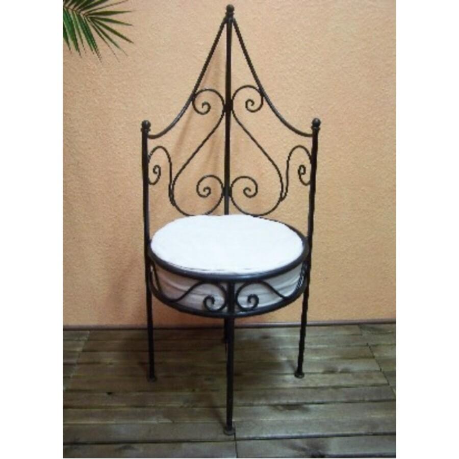 Granada marokkói szék vasból