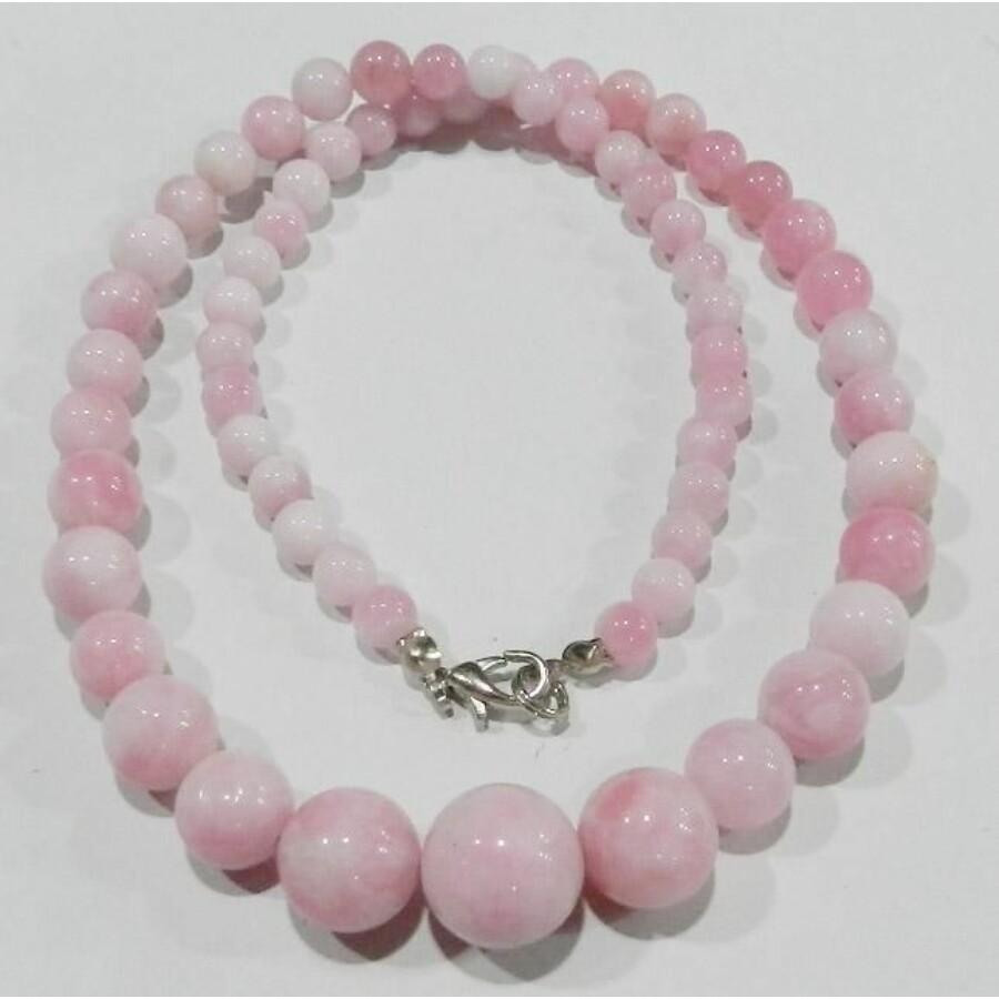 Pink színű jade