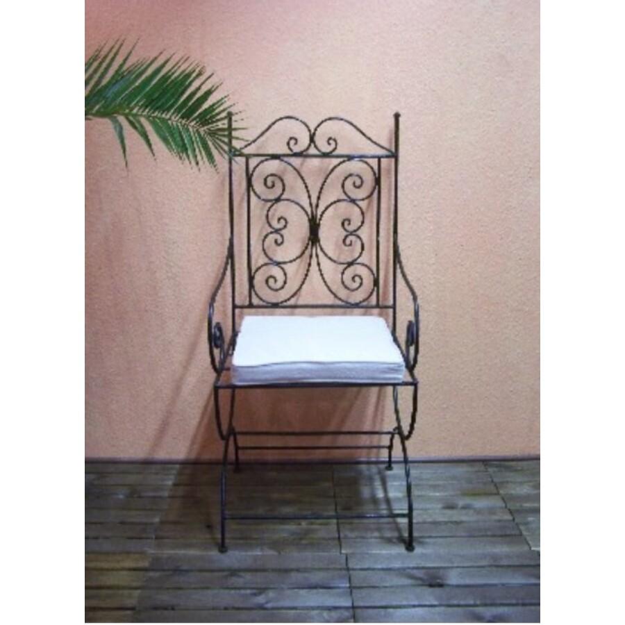 Roubint marokkói szék vasból