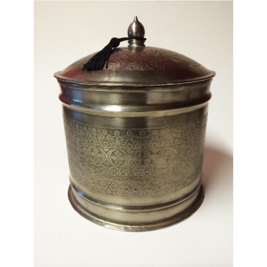 Sahana marokkói teázási kellék tartó box L