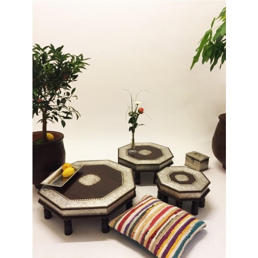 Shobhana 3 részes keleti teázó asztal szett