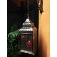 Kalila marokkói gyertya és mécsestartó