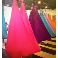 Antigravitációs jóga függőágy ciklámen színű 4 méteres