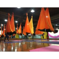 Antigravitációs jóga függőágy rózsaszín 4 méteres