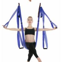 Antigravitációs jóga függőágy színjátszó lila színű 4 méteres