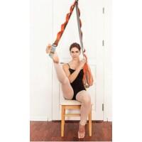 Ajtóra akasztható jógaheveder erősítő, nyújtó gyakorlatokhoz rózsaszín