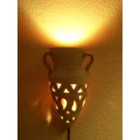 Amphore mediterrán fali lámpa