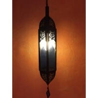 Fida marokkói mennyezeti lámpa kék