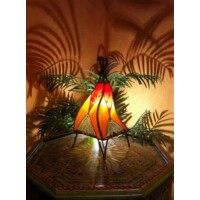 Emel marokkói asztali henna lámpa 37 cm