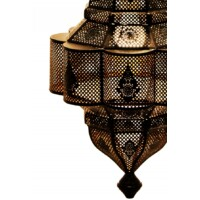Enes marokkói mennyezeti lámpa