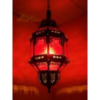 Fula klar marokkói mennyezeti lámpa