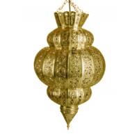 Harem marokkói mennyezeti lámpa 45 cm arany