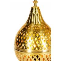 Ishrat marokkói asztali lámpa arany
